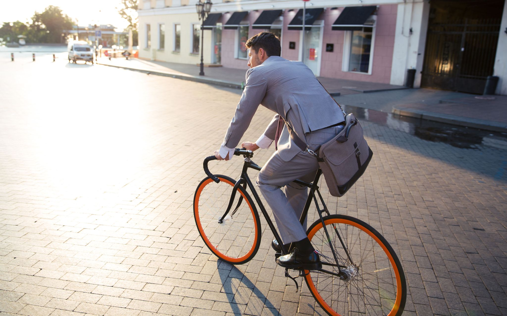 Commute To Work on a Bike